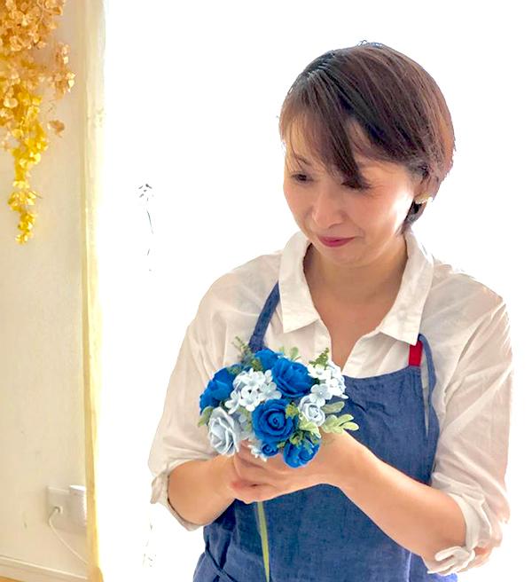 日本フラワーソープ協会プロフェッサー中山裕美